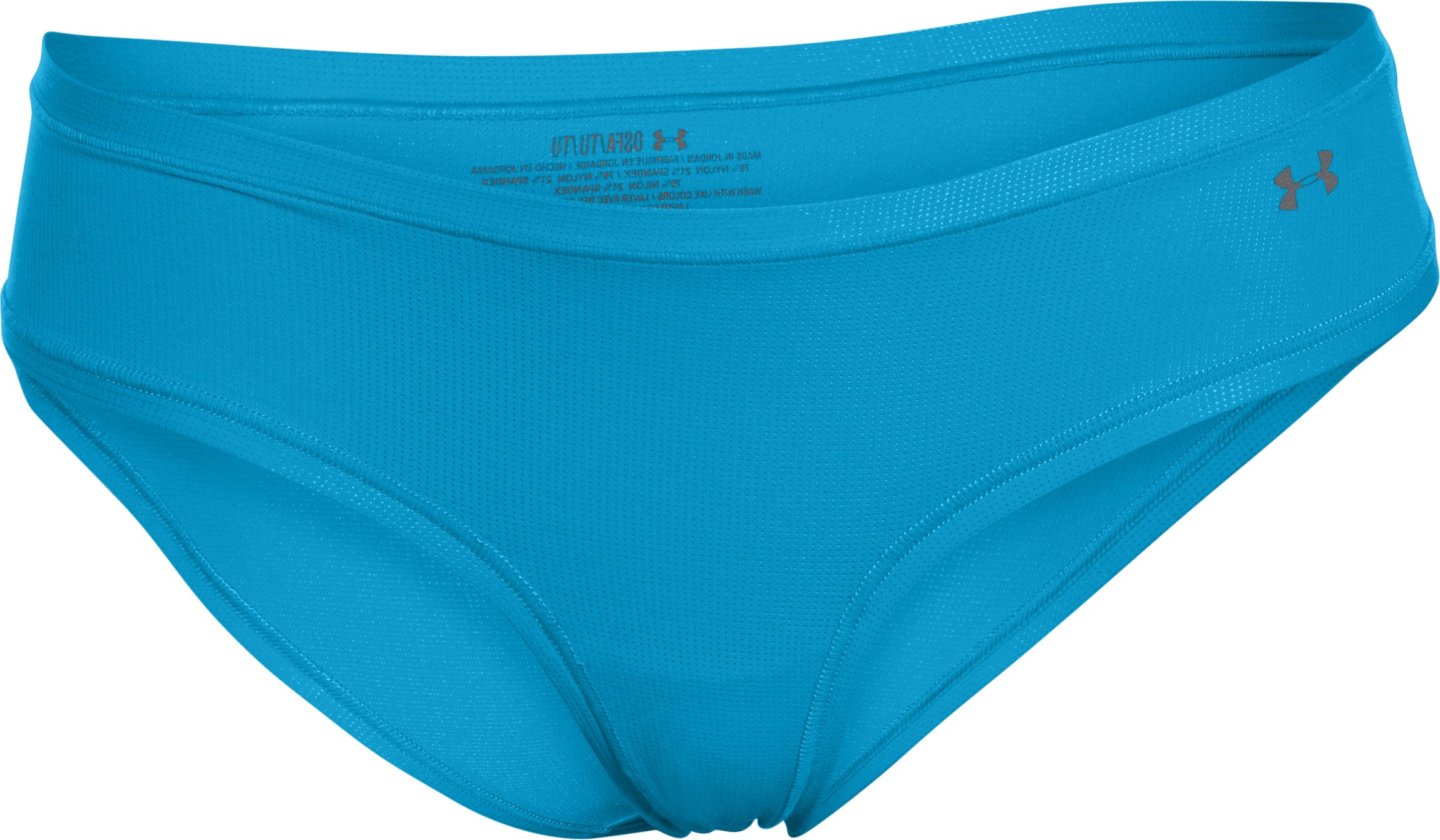 Women's UA Pure Stretch Sheer Cheeky, DYNAMO BLUE, undefined