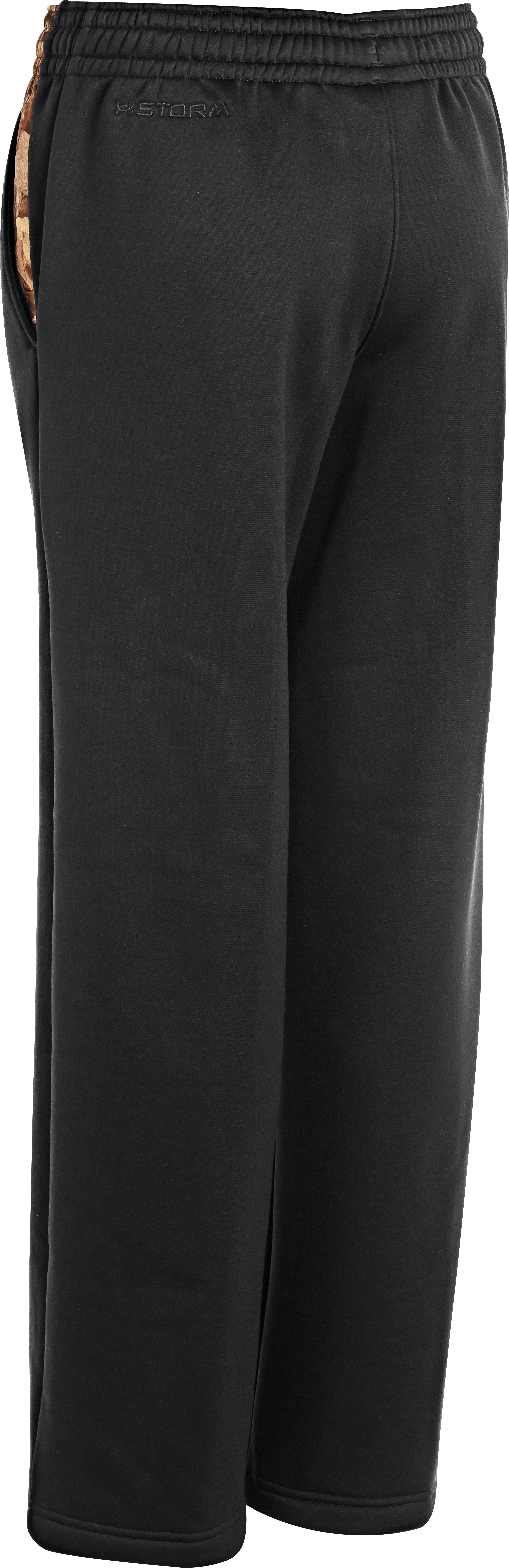 Boys' UA Storm Armour Fleece® Hero Pants, Black ,