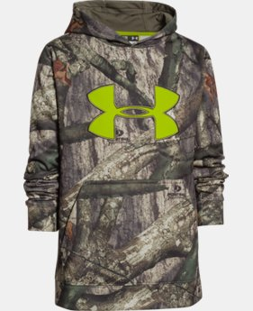 Boys' Armour® Fleece Scent Control Hoodie  1 Color $38.99