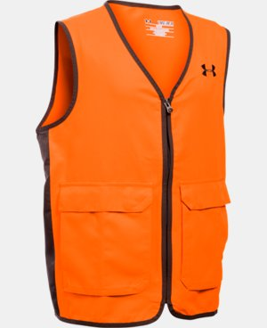 New Arrival  Boys' UA Blaze Antler Logo Hunting Vest LIMITED TIME: FREE SHIPPING 1 Color $44.99