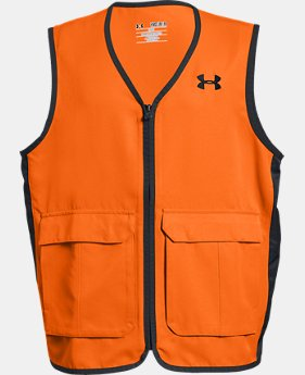 Boys' UA Blaze Antler Logo Hunting Vest  1  Color Available $39.99