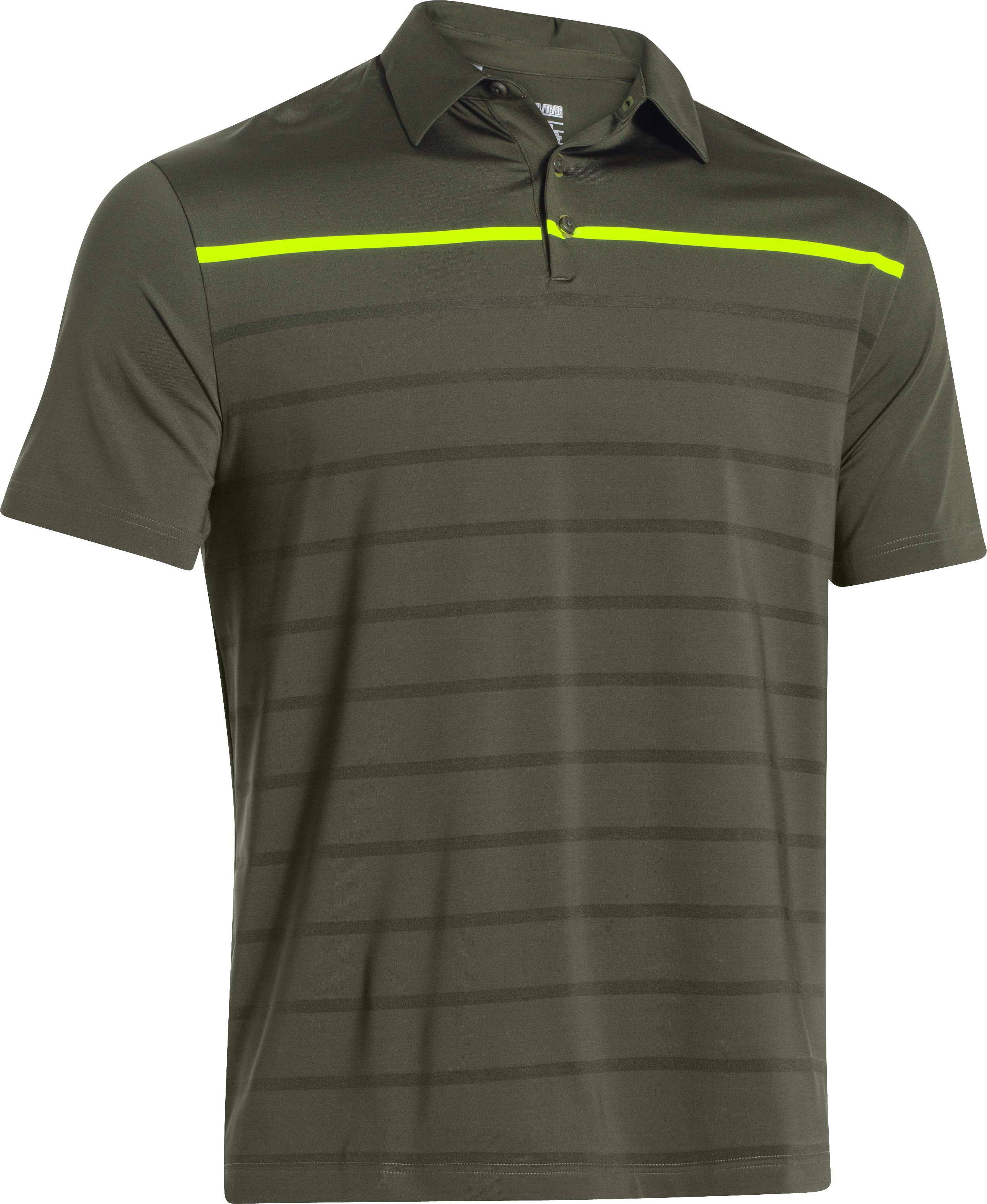 Men's UA Stripe Polo, Rough