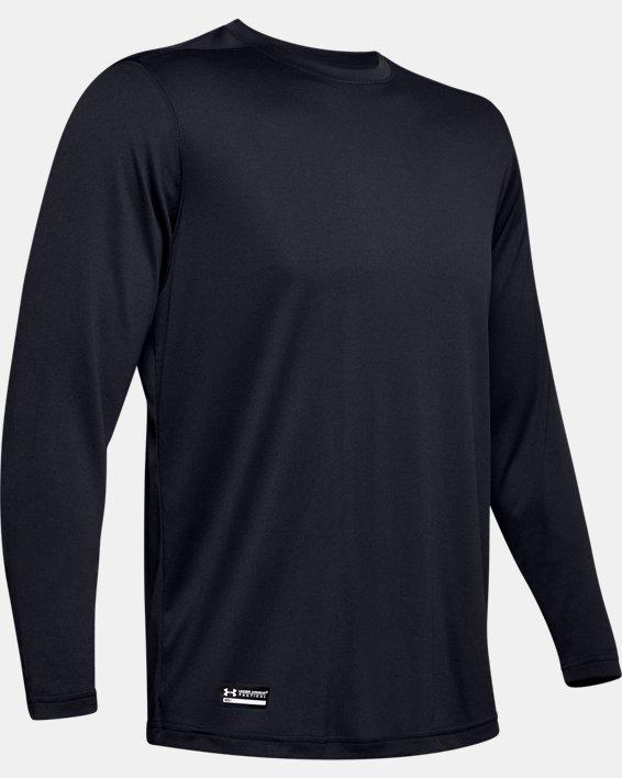 Men's Tactical UA Tech™ Long Sleeve T-Shirt, Black, pdpMainDesktop image number 6