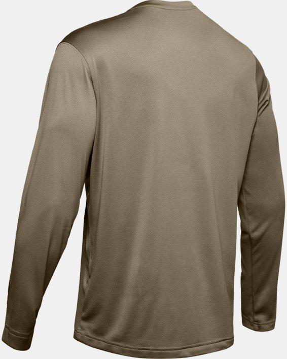 Men's Tactical UA Tech™ Long Sleeve T-Shirt, Brown, pdpMainDesktop image number 8