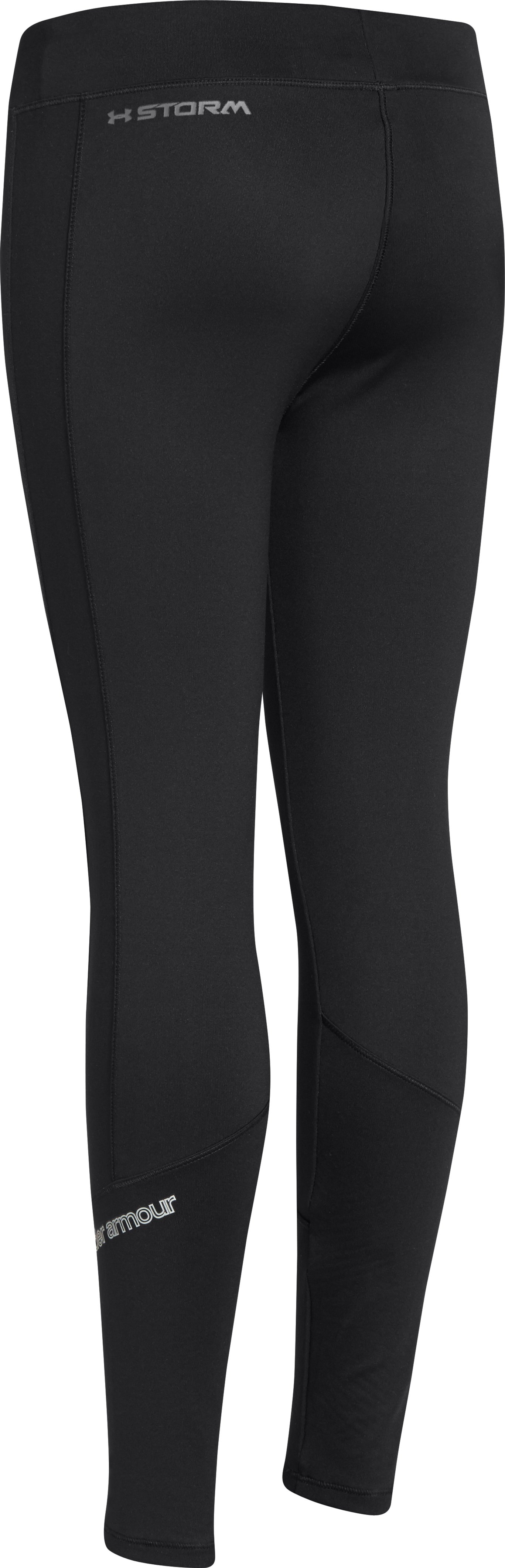 Girls' UA Storm ColdGear® Infrared Tight, Black ,