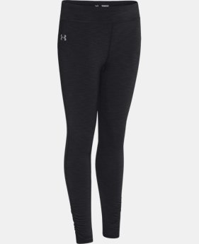 Girls' ColdGear® EVO Mélange Tight  1 Color $26.99