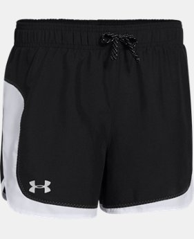 New Arrival  Girls' UA Stunner Short LIMITED TIME: FREE SHIPPING 1 Color $22.99