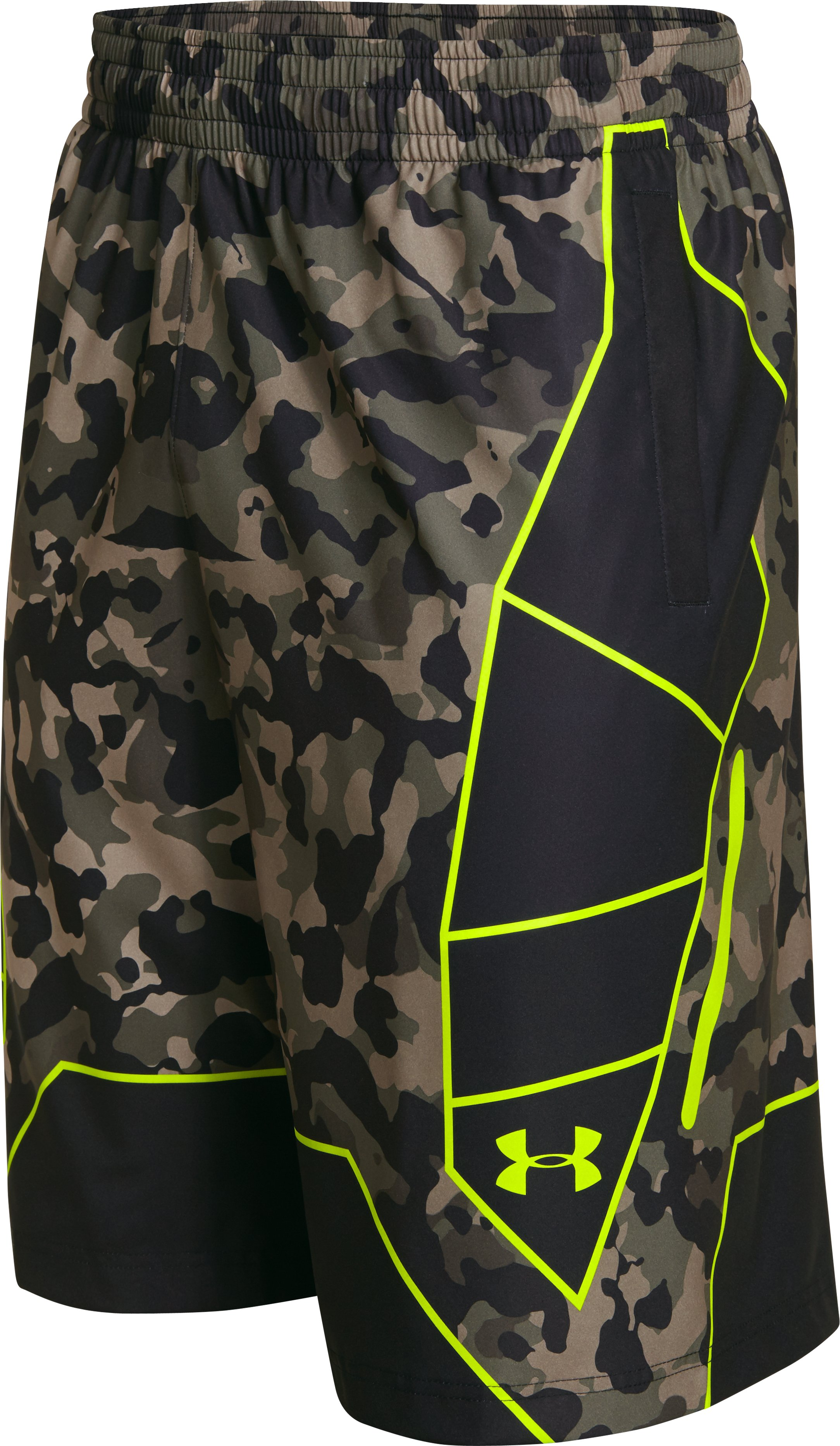 Men's UA Undeniable Playmaker Basketball Shorts, Rifle Green