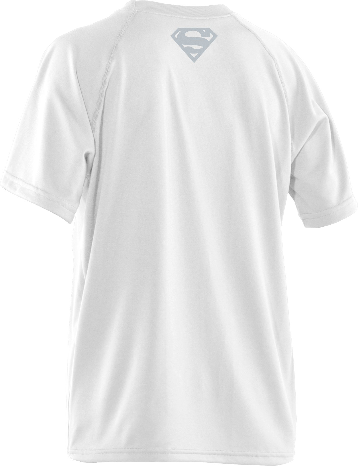 Boys' Under Armour® Alter Ego Man Of Steel T-Shirt, White,