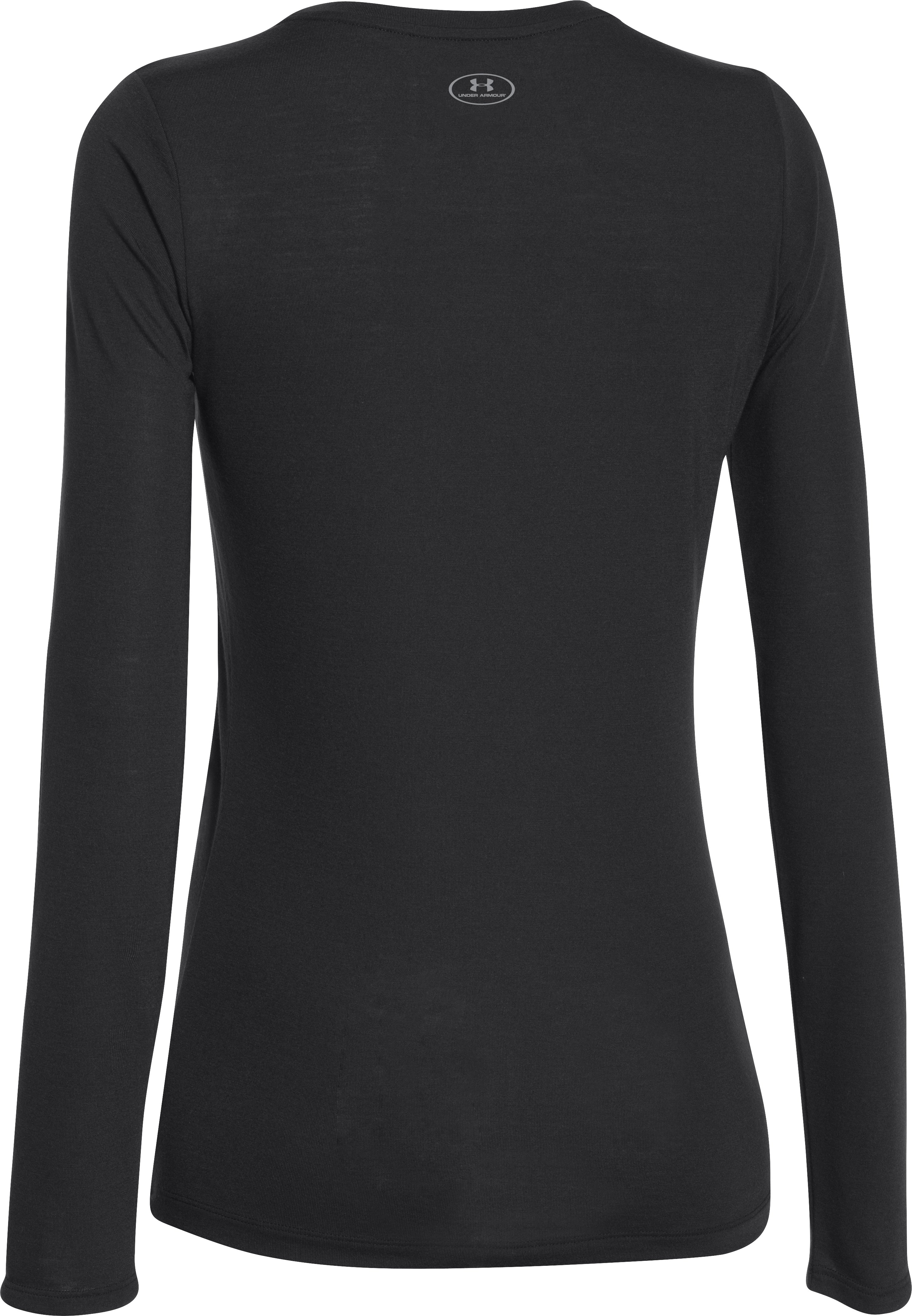 Women's UA Power In Pink® Hero Long Sleeve, Black