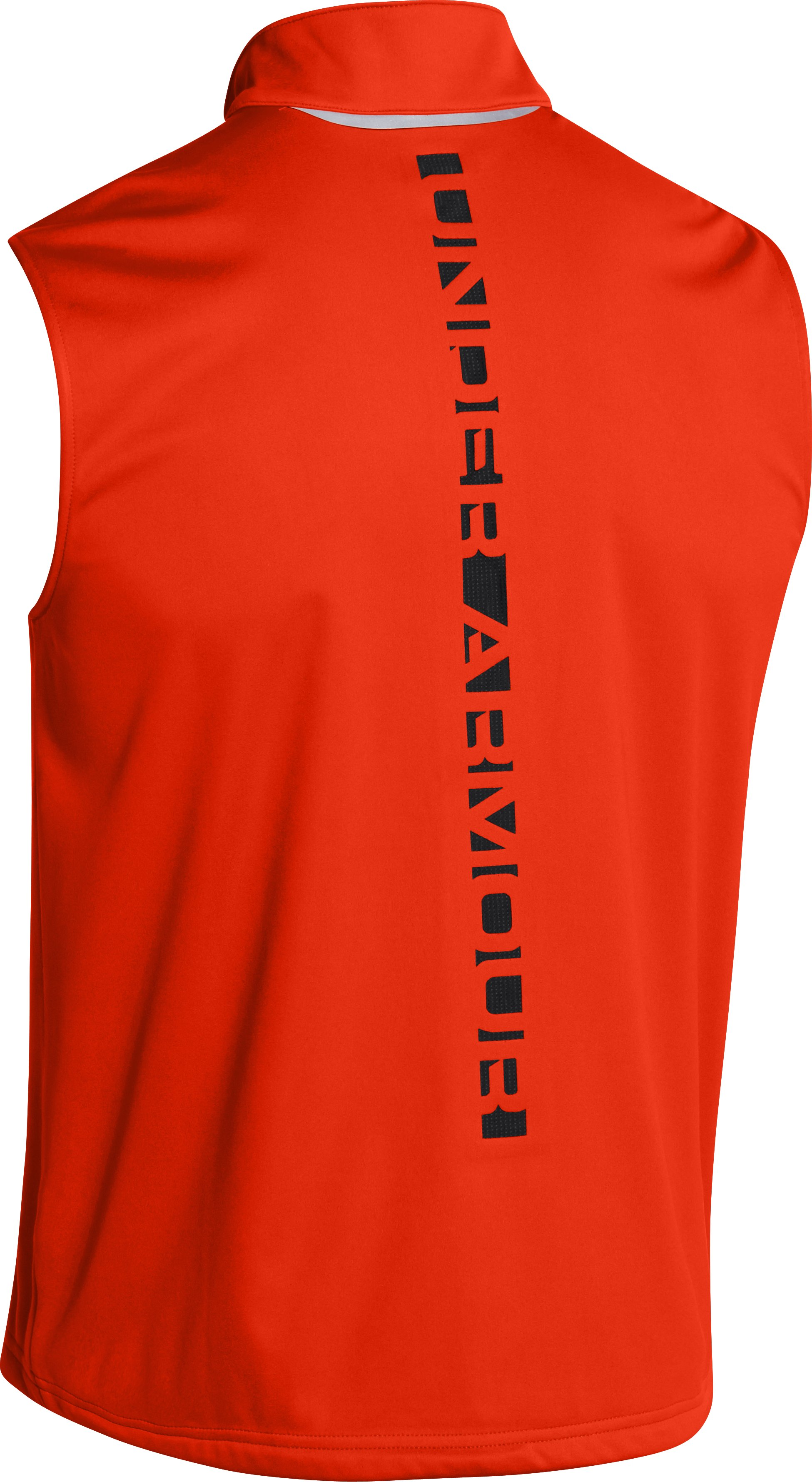 Men's UA Storm ColdGear® Infrared Run Vest, Volcano