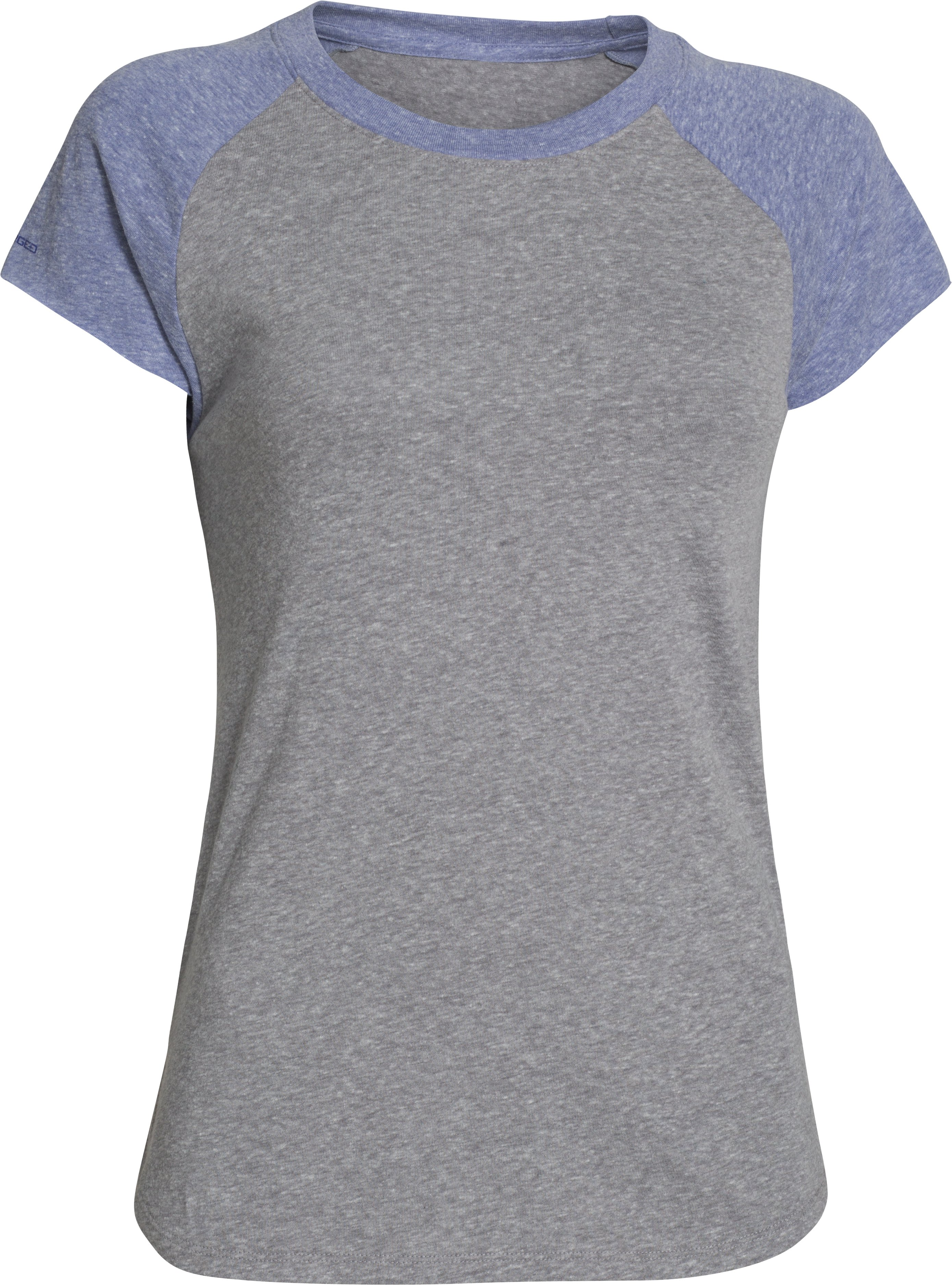 Women's UA Charged Cotton® Undeniable Crew, Charcoal
