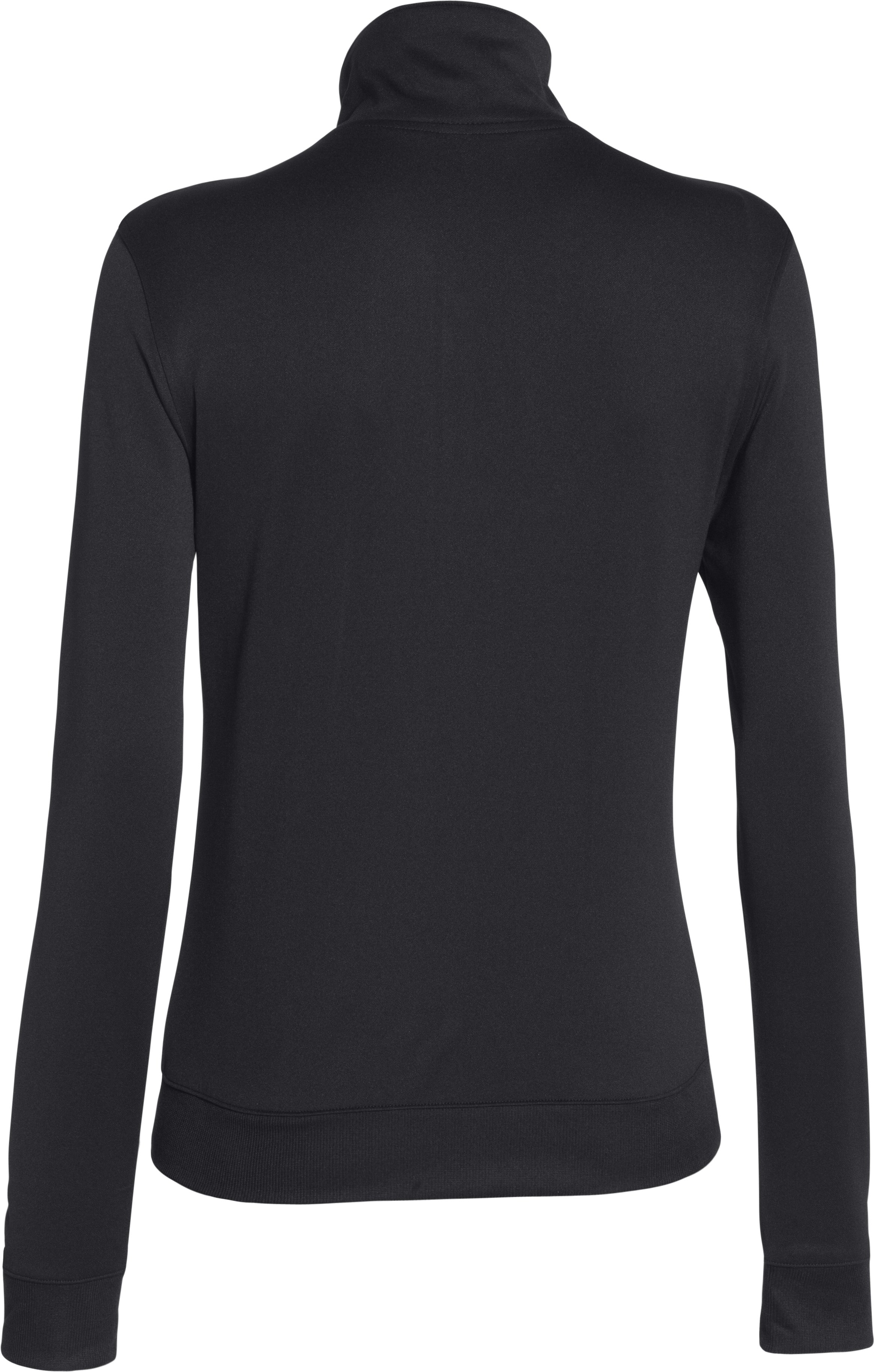 Women's UA Compete Full Zip Jacket, Black , undefined