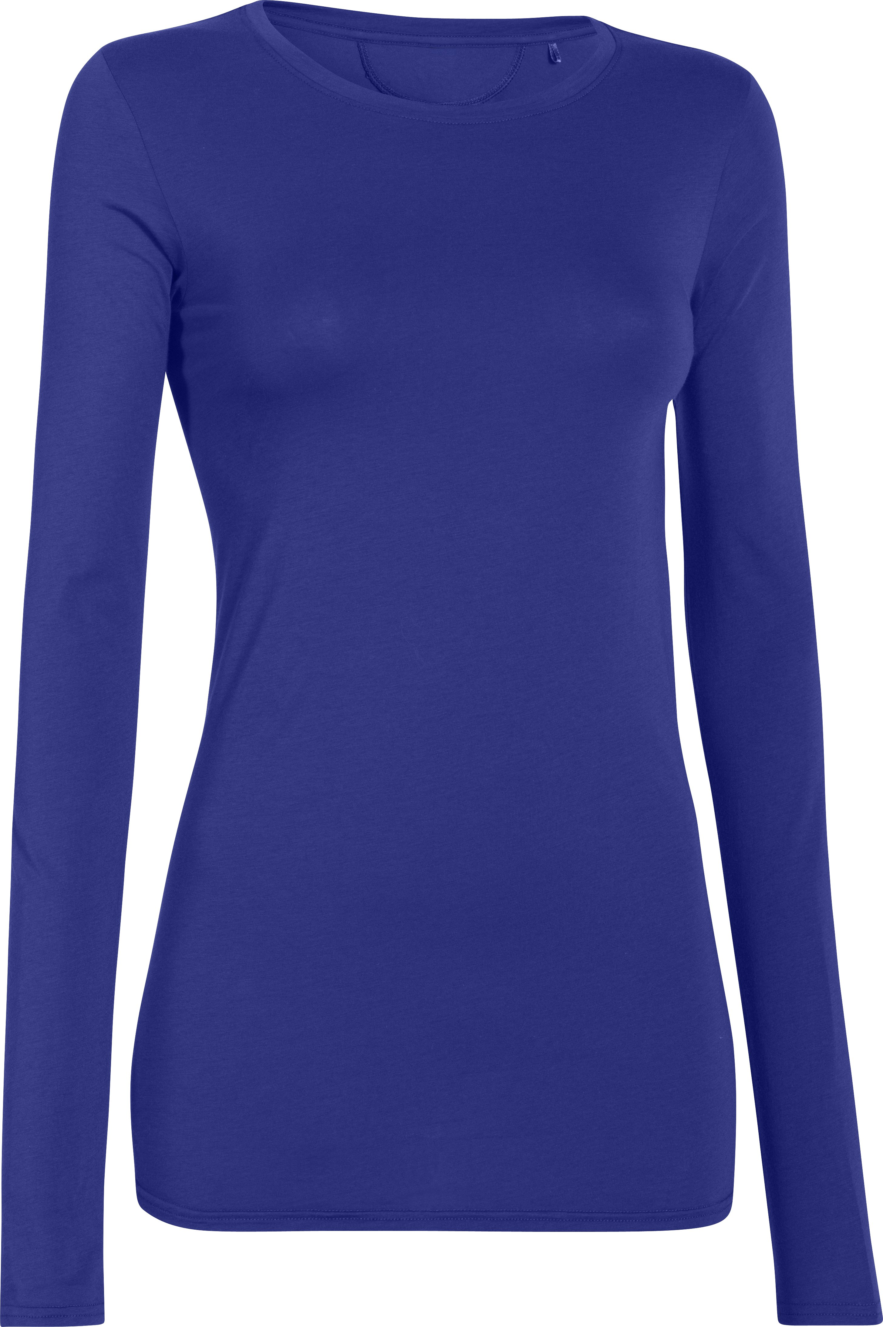 Women's UA Long & Lean Long Sleeve, SIBERIAN IRIS