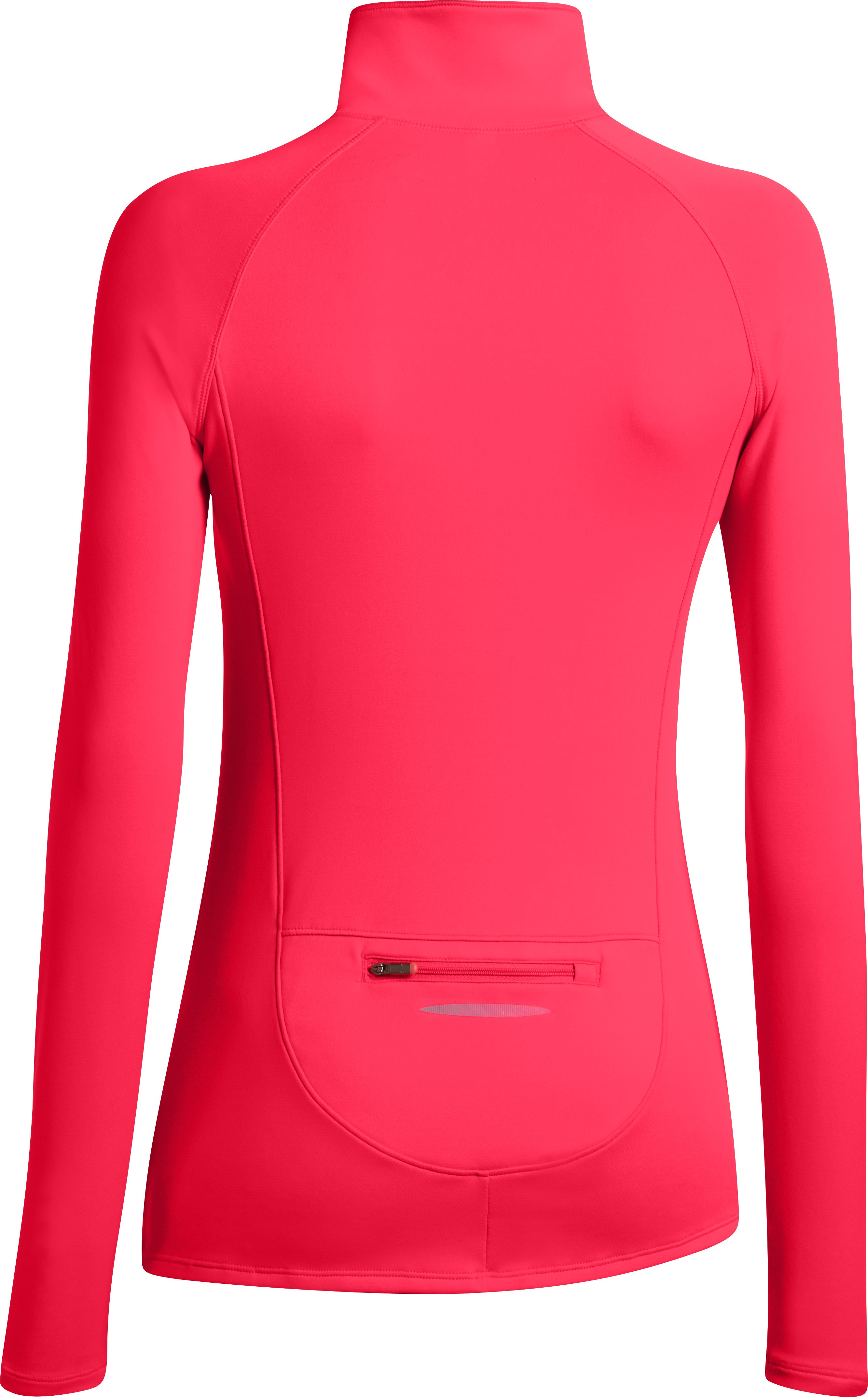 Women's UA Qualifier 1/2 Zip, Neo Pulse
