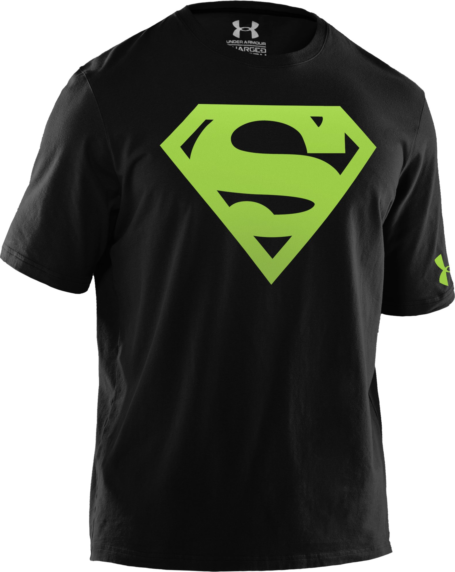 Men's Under Armour® Alter Ego Superman T-Shirt, Black ,