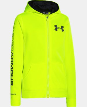 Boys' UA Storm Armour® Fleece MagZip™ Hoodie LIMITED TIME: FREE U.S. SHIPPING 1 Color $44.99