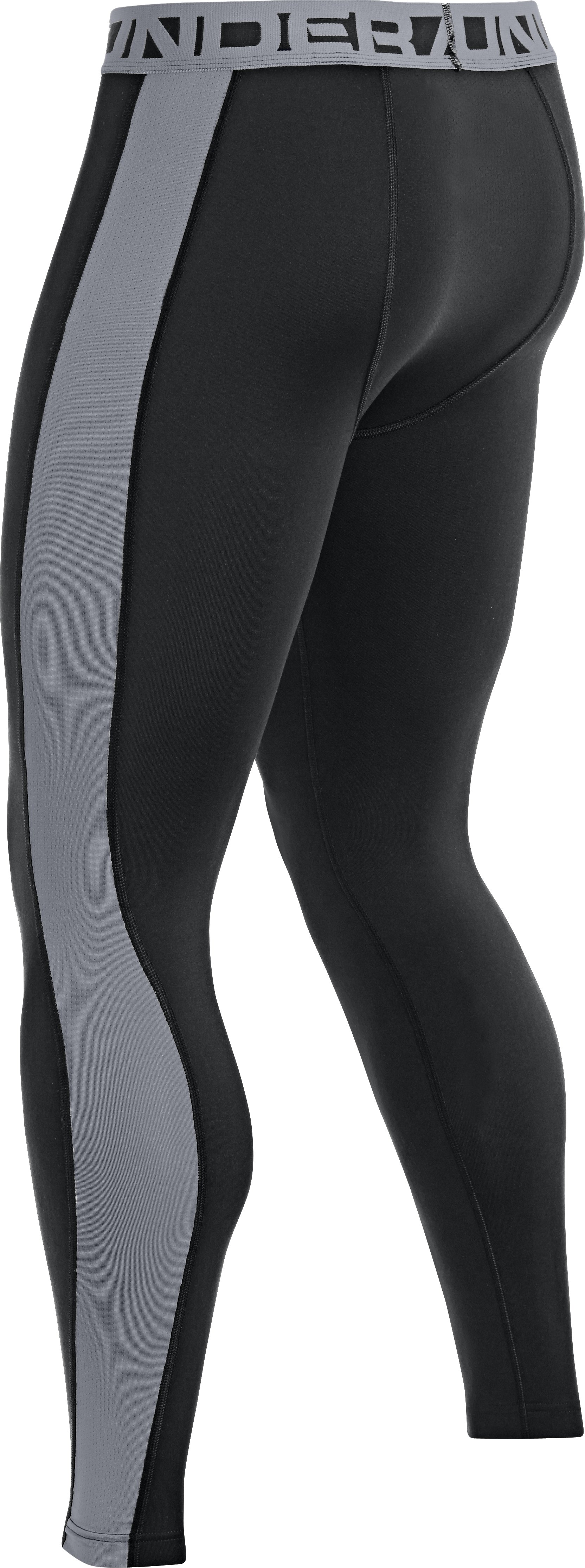 Men's UA ColdGear® Infrared Baselayer Leggings, Black