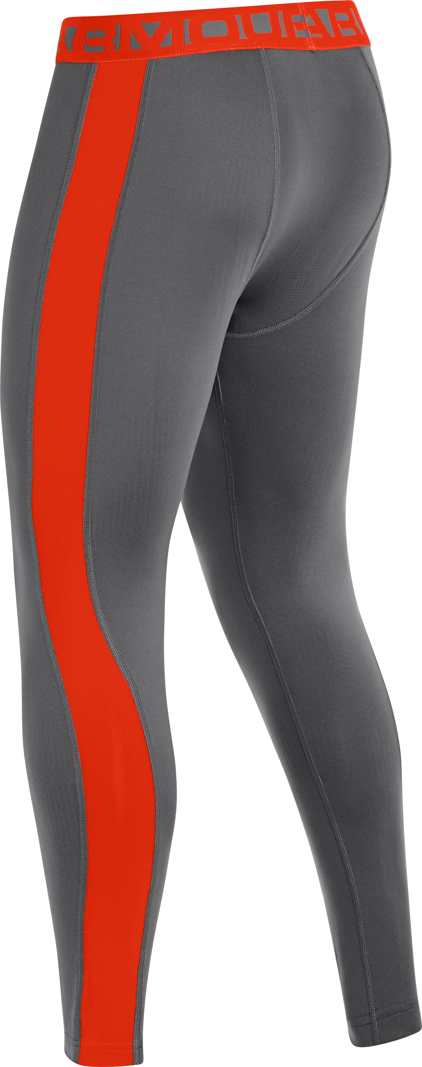 Men's UA ColdGear® Infrared Baselayer Leggings, Graphite