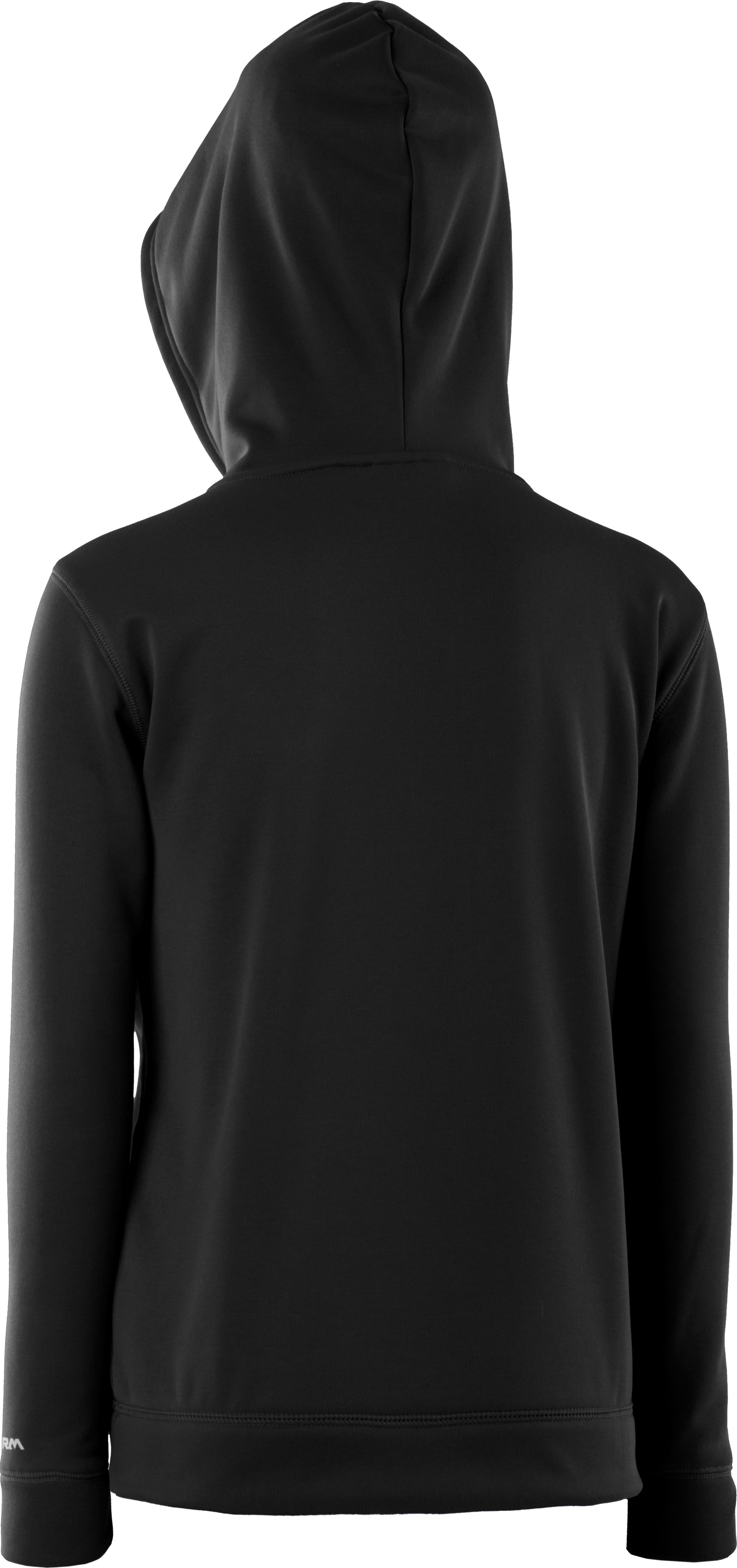 Boys' Under Armour® Armour® Fleece Storm Hoodie, Black , undefined