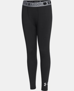 Boys' UA ColdGear® Armour Fitted Leggings  1 Color $44.99