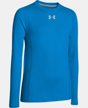 Boys' UA ColdGear® Infrared Everyday Crew  1 Color $26.99