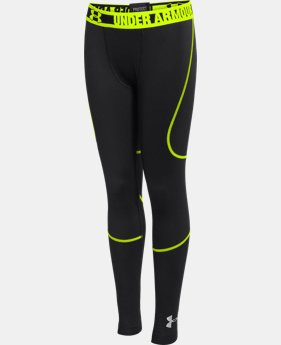 Boys' UA ColdGear® Infrared Multiplier Leggings LIMITED TIME: FREE U.S. SHIPPING 1 Color $29.99
