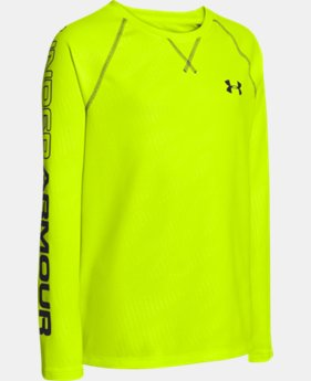 Boys' UA Dynamism Long Sleeve  1 Color $20.99