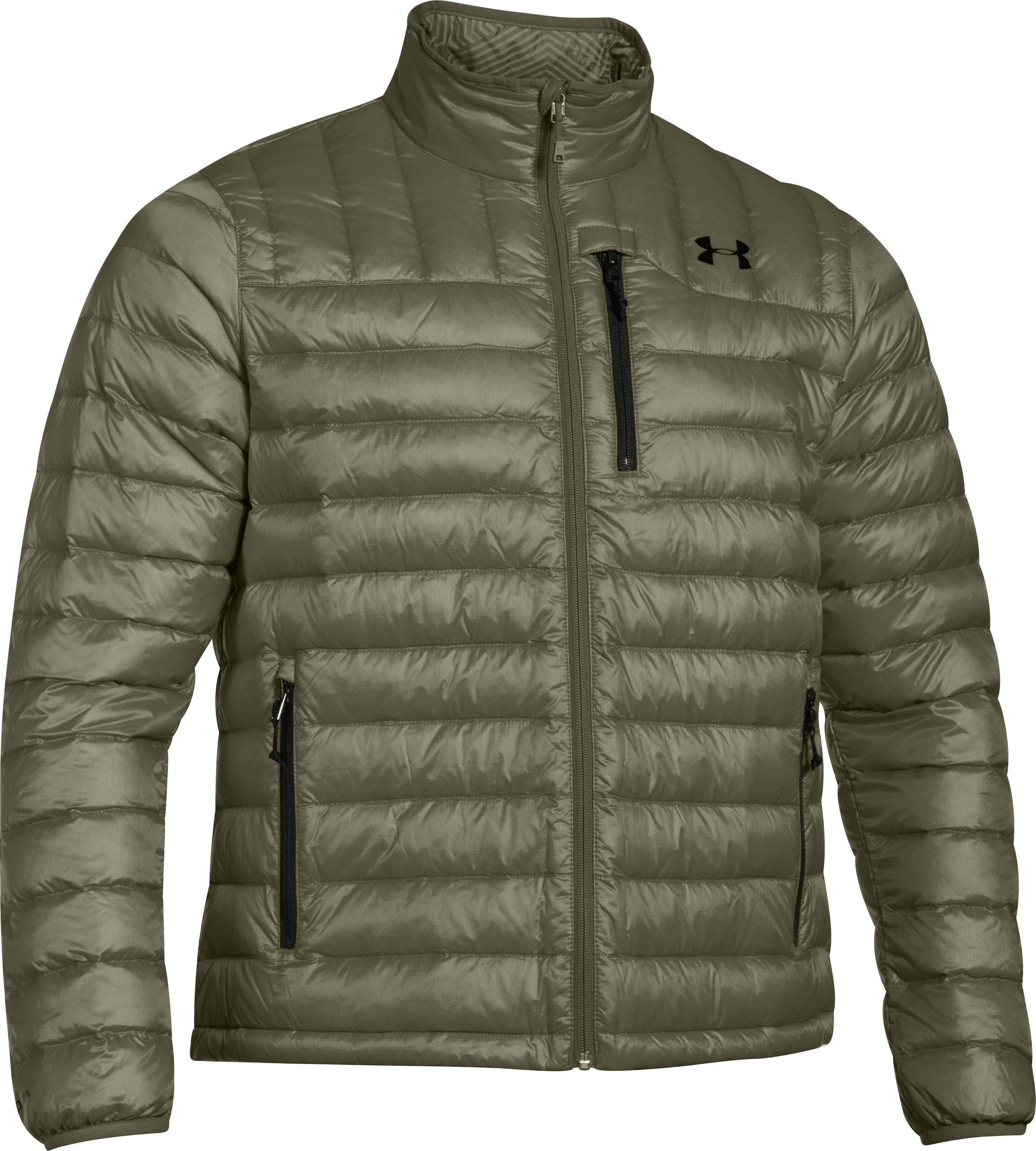 Men's UA Storm ColdGear® Infrared Turing Jacket, GREENHEAD