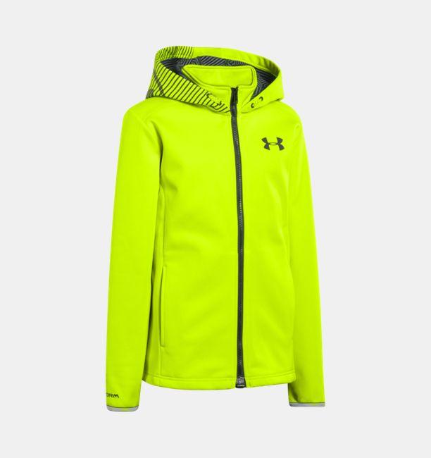 3713ebe77 Boys  UA Storm ColdGear® Infrared MagZip Jacket