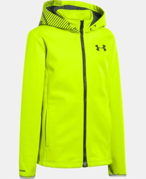 Boys' UA Storm ColdGear® Infrared MagZip Jacket  1 Color $59.99