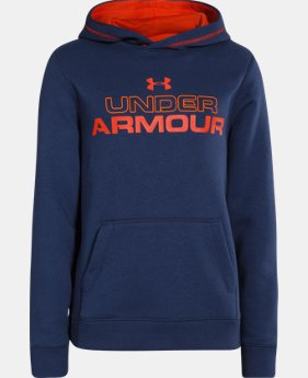 Boys' UA Rival Graphic Hoodie  1 Color $23.99