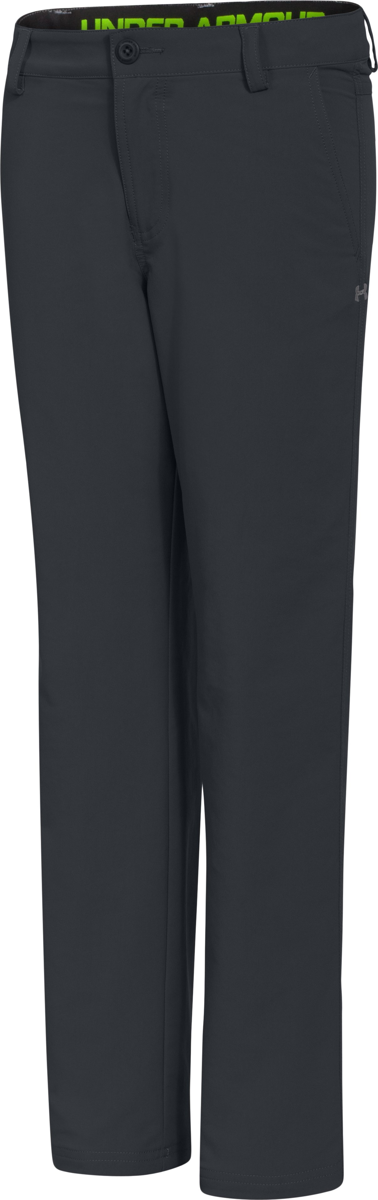 Boys' UA Golf Pants, ANTHRACITE, zoomed image