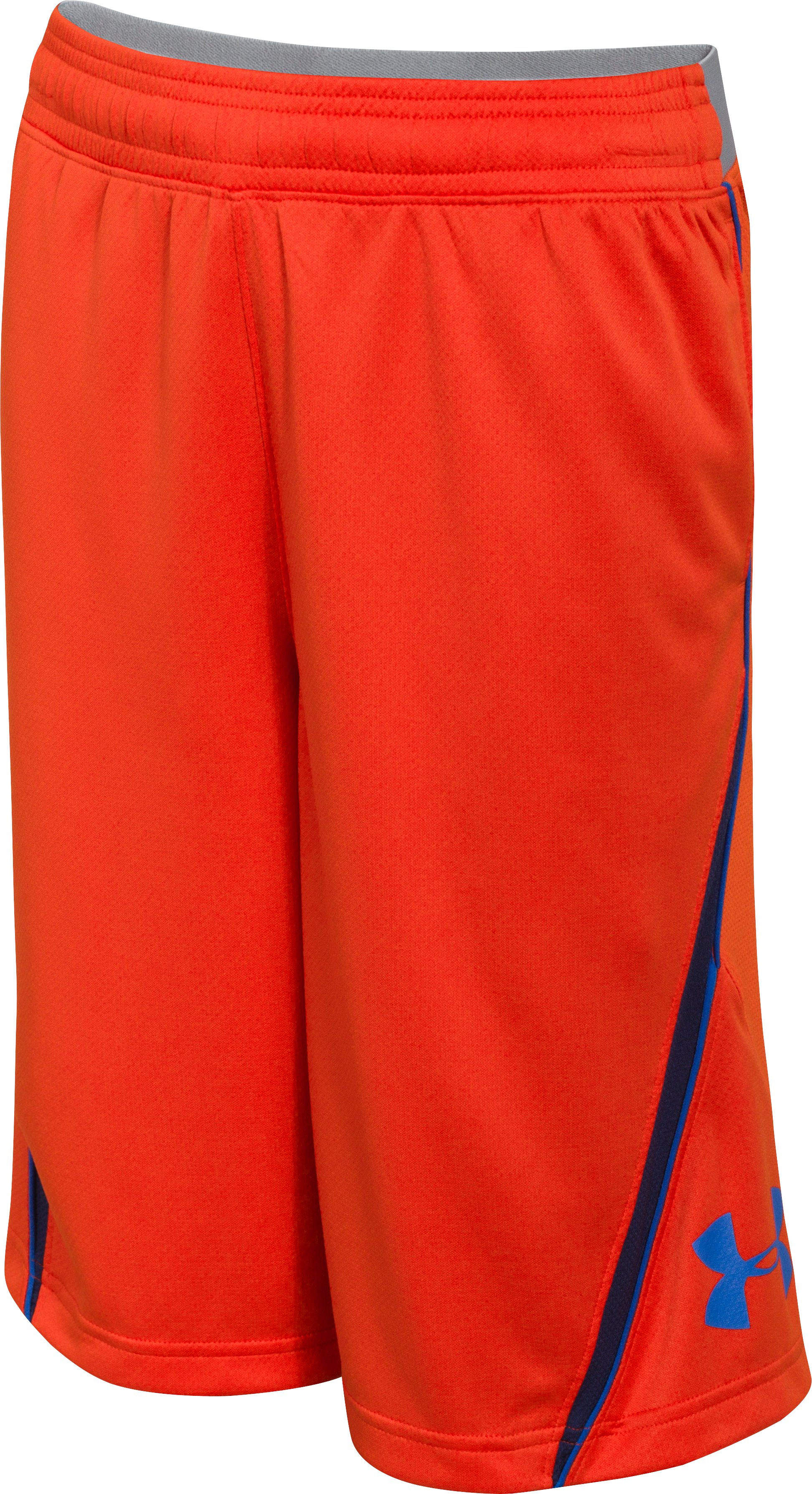 Boys' UA Floor General Shorts, Volcano, zoomed image