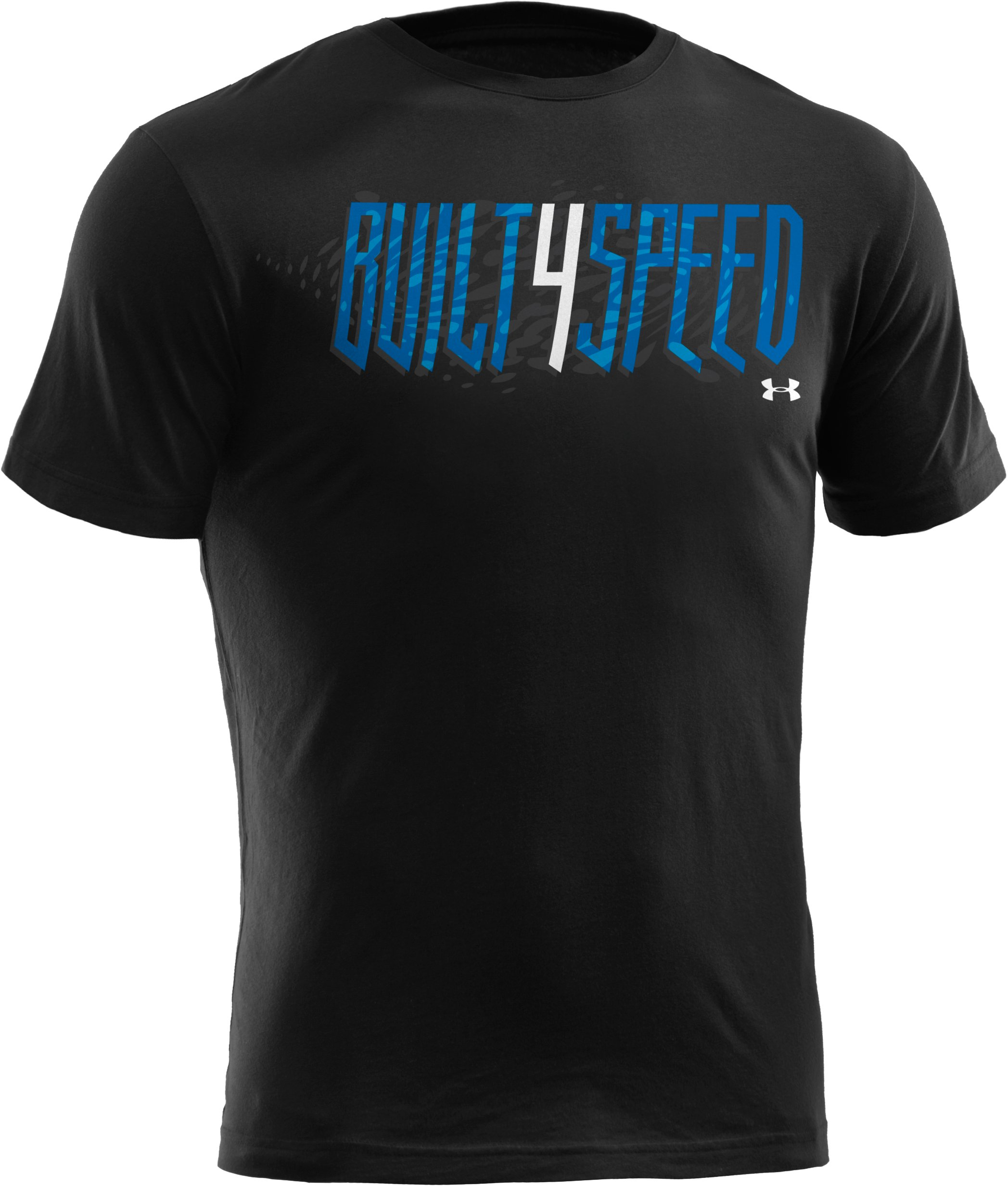 Men's UA Built 4 Speed T-Shirt, Black