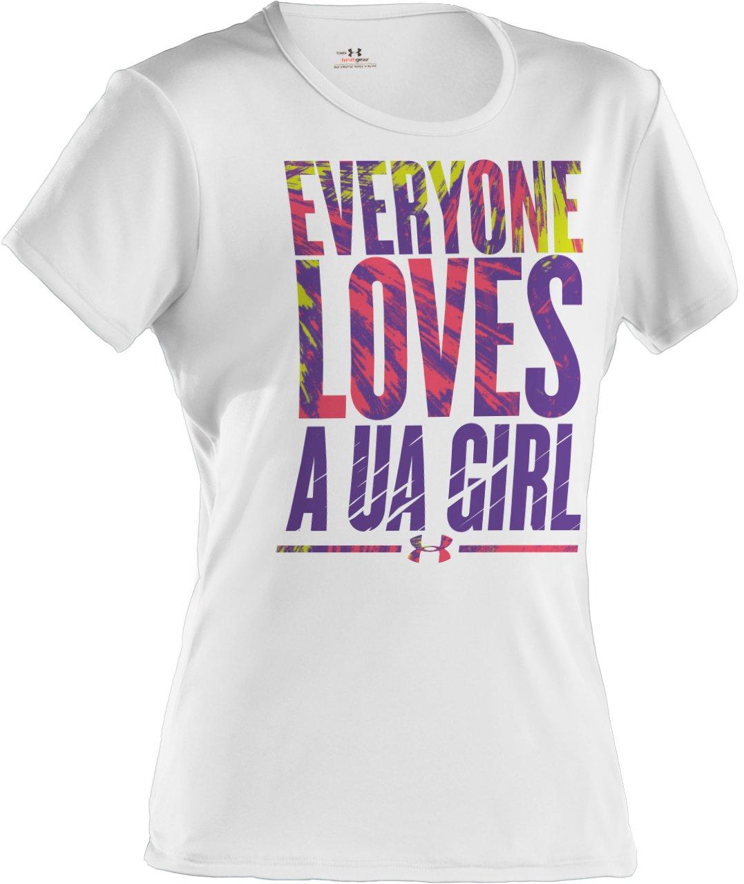 Girls' UA Everyone Loves T-Shirt, White, zoomed image