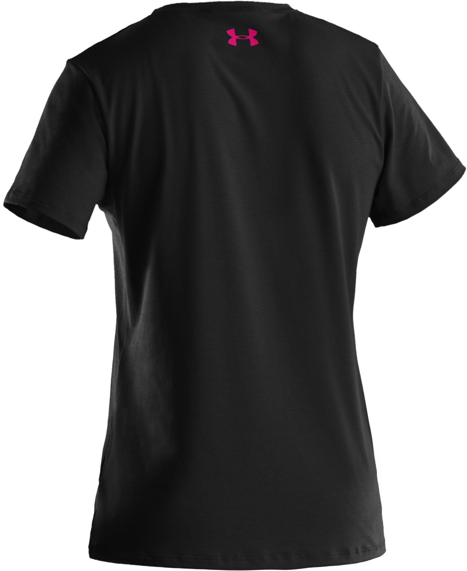 Women's UA Wordmark Graphic T-Shirt, Black