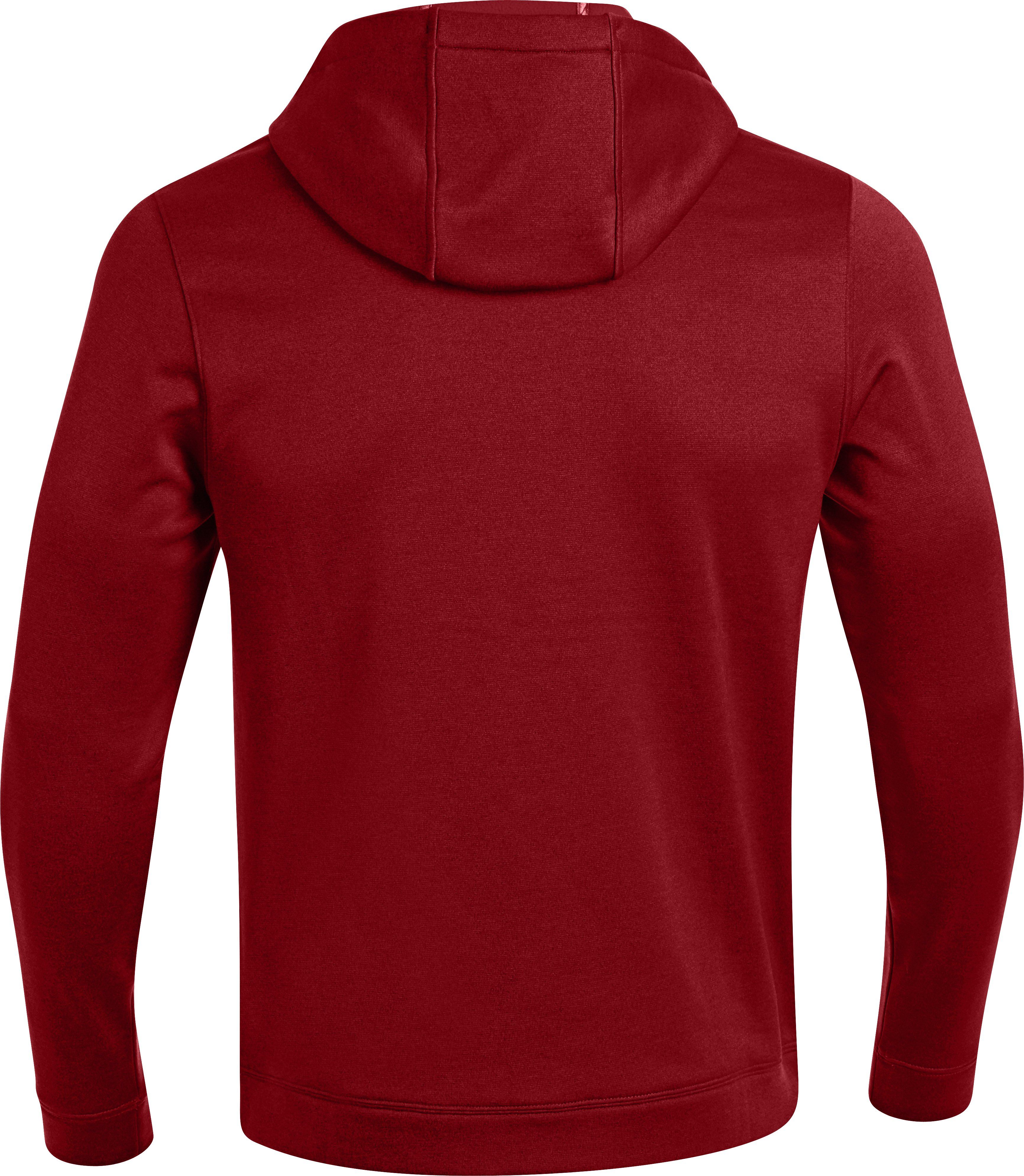 Men's UA Storm Armour® Fleece Antler Hoodie, DAREDEVIL RED