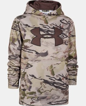 Boys' Armour® Fleece Camo Big Logo Hoodie  2 Colors $33.74 to $44.99