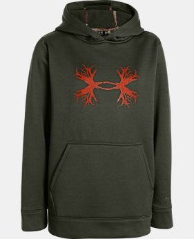 Boys' UA Storm Armour® Fleece Antler Hoodie  1 Color $28.49