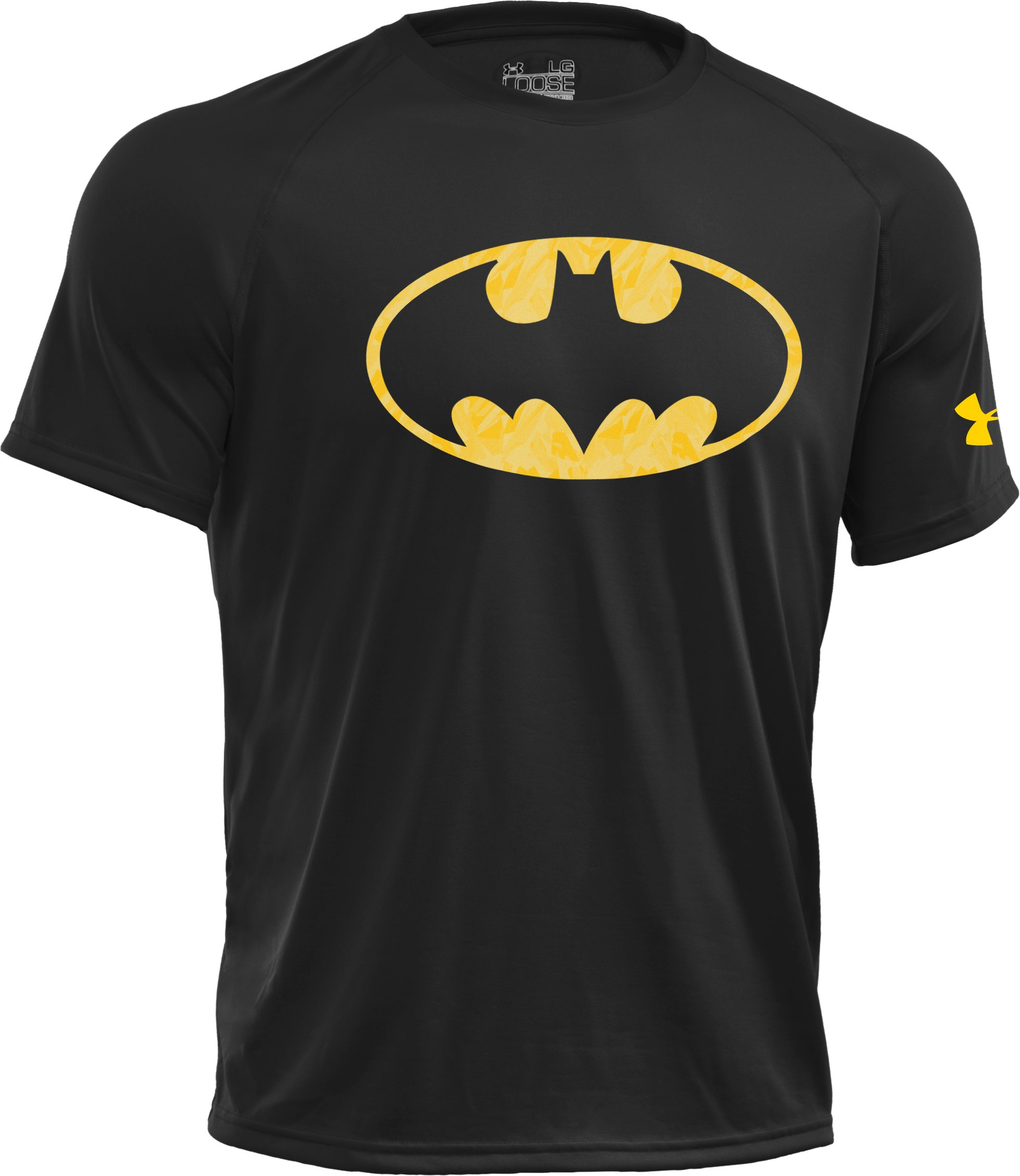 Men's Under Armour® Alter Ego Patterned Batman T-Shirt, Black