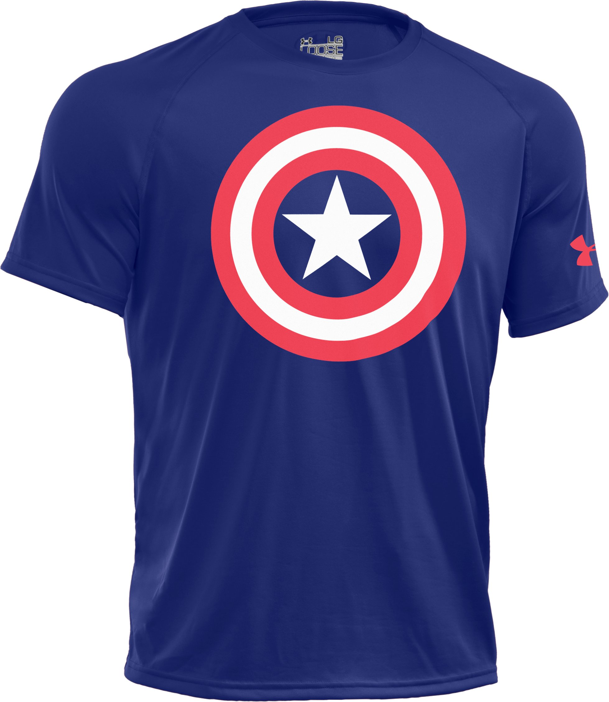 Men's Under Armour® Alter Ego Captain America T-Shirt, Royal
