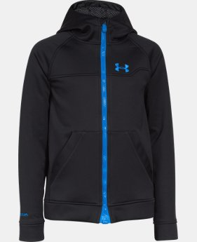 Boys' UA Storm ColdGear® Infrared Softershell Hoodie  1 Color $89.99