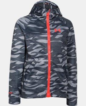 Boys' UA Storm ColdGear® Infrared Softershell Hoodie  1 Color $54.99