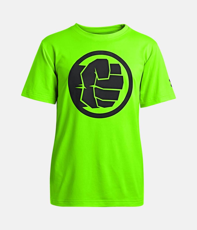 boys under armour alter ego hulk neon t shirt under. Black Bedroom Furniture Sets. Home Design Ideas