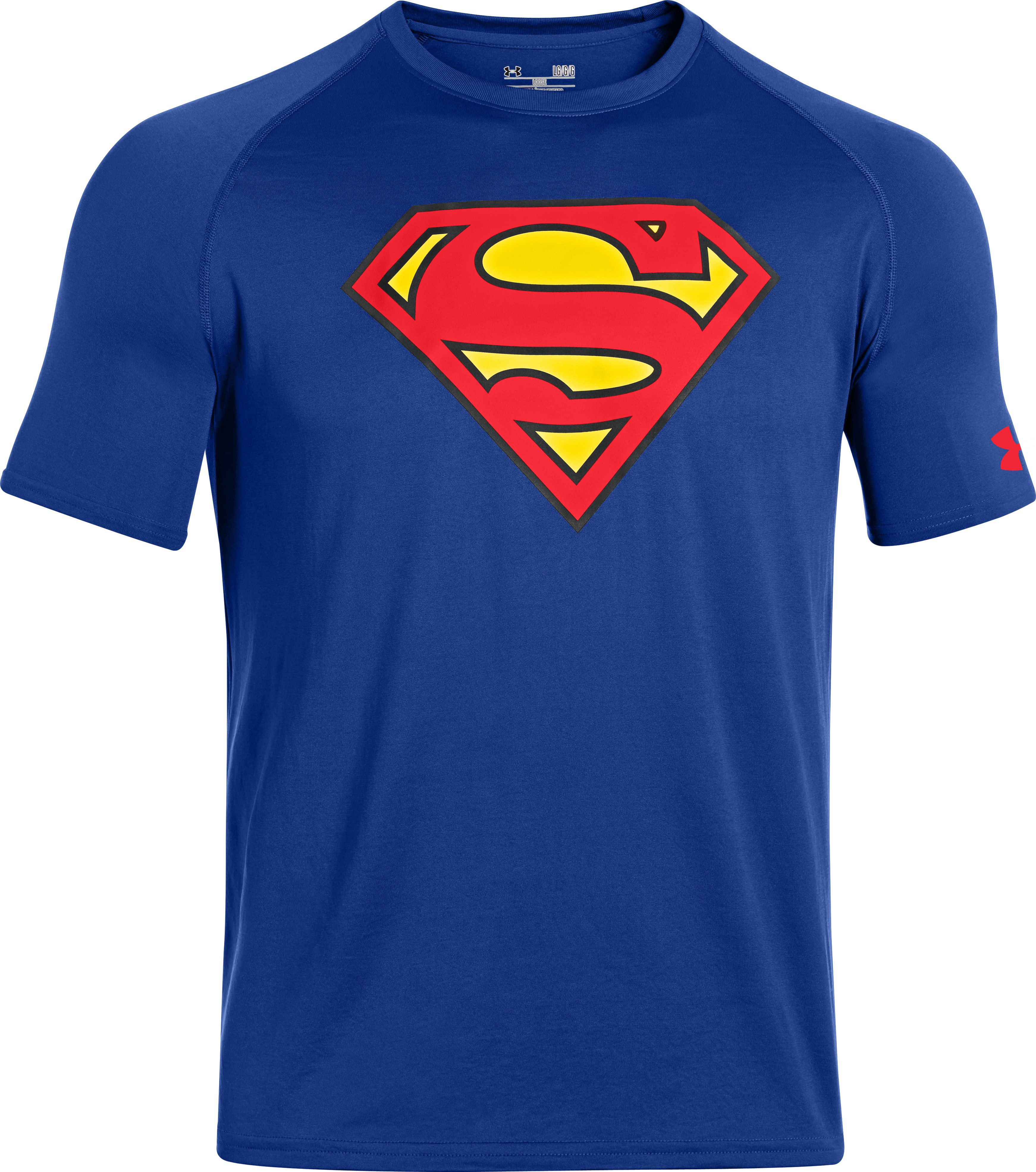 Men's Under Armour® Alter Ego Superman Core T-Shirt, Royal, undefined