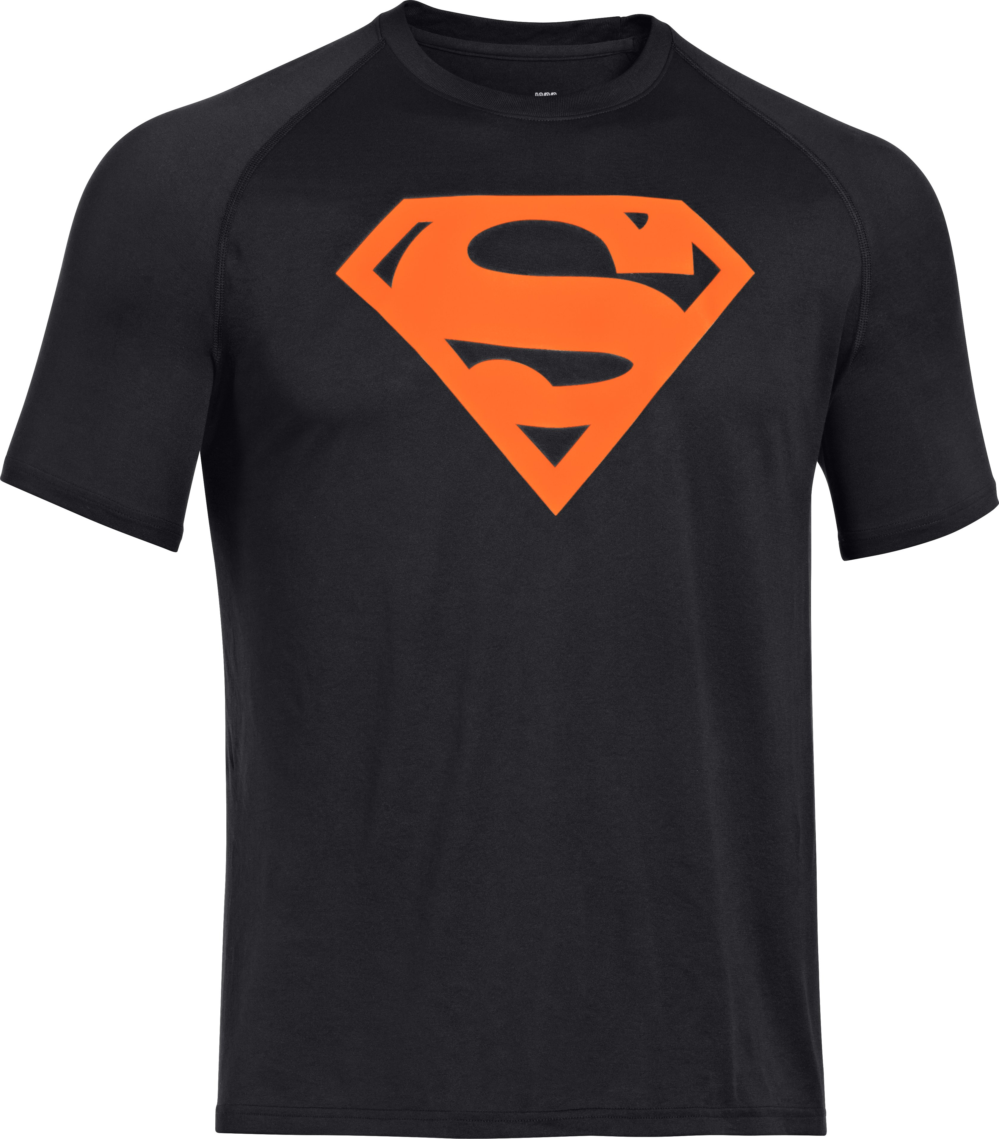 Men's Under Armour® Alter Ego Neon Superman T-Shirt, Black