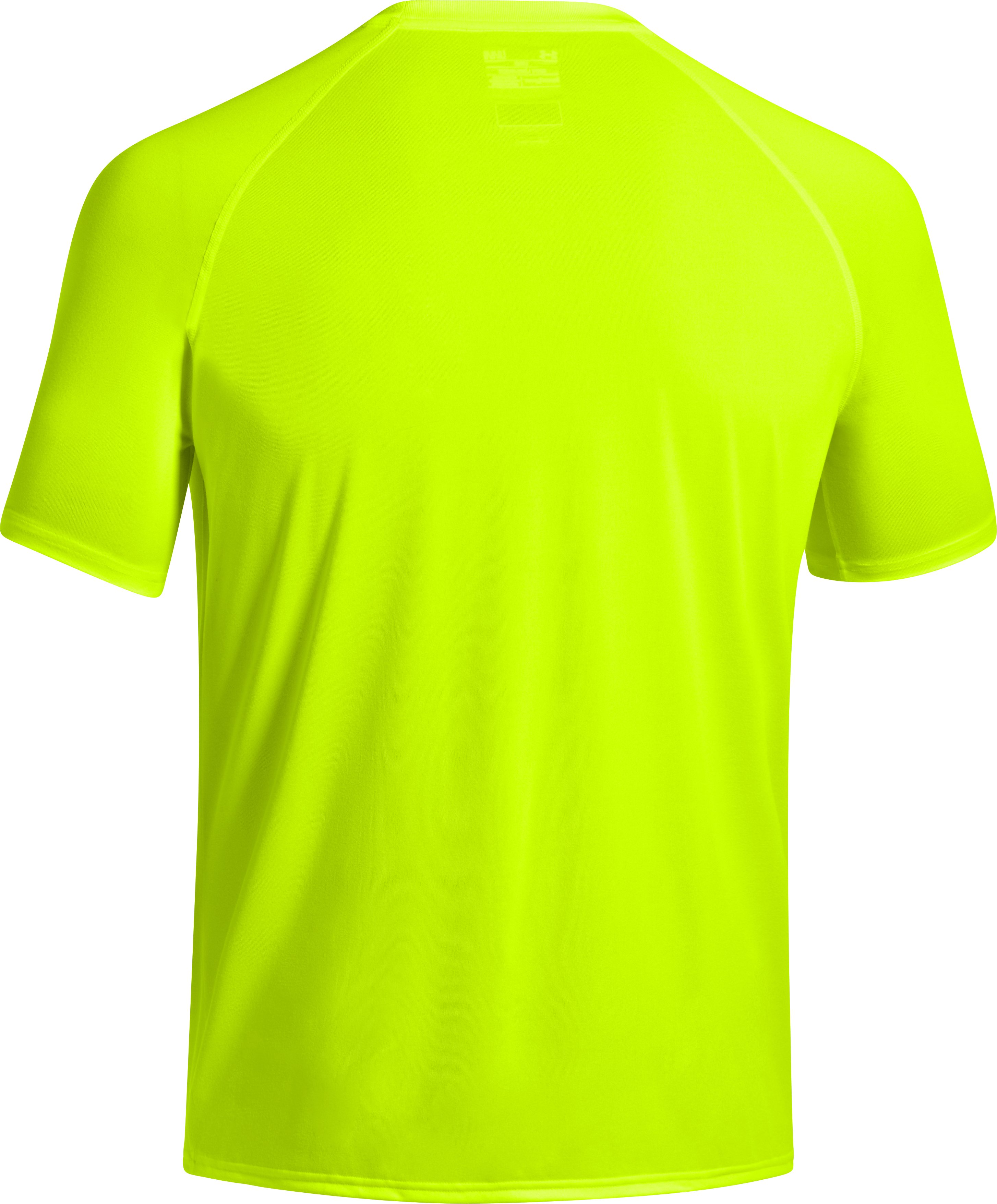 Men's Under Armour® Alter Ego Camo Captain America T-Shirt, High-Vis Yellow, undefined