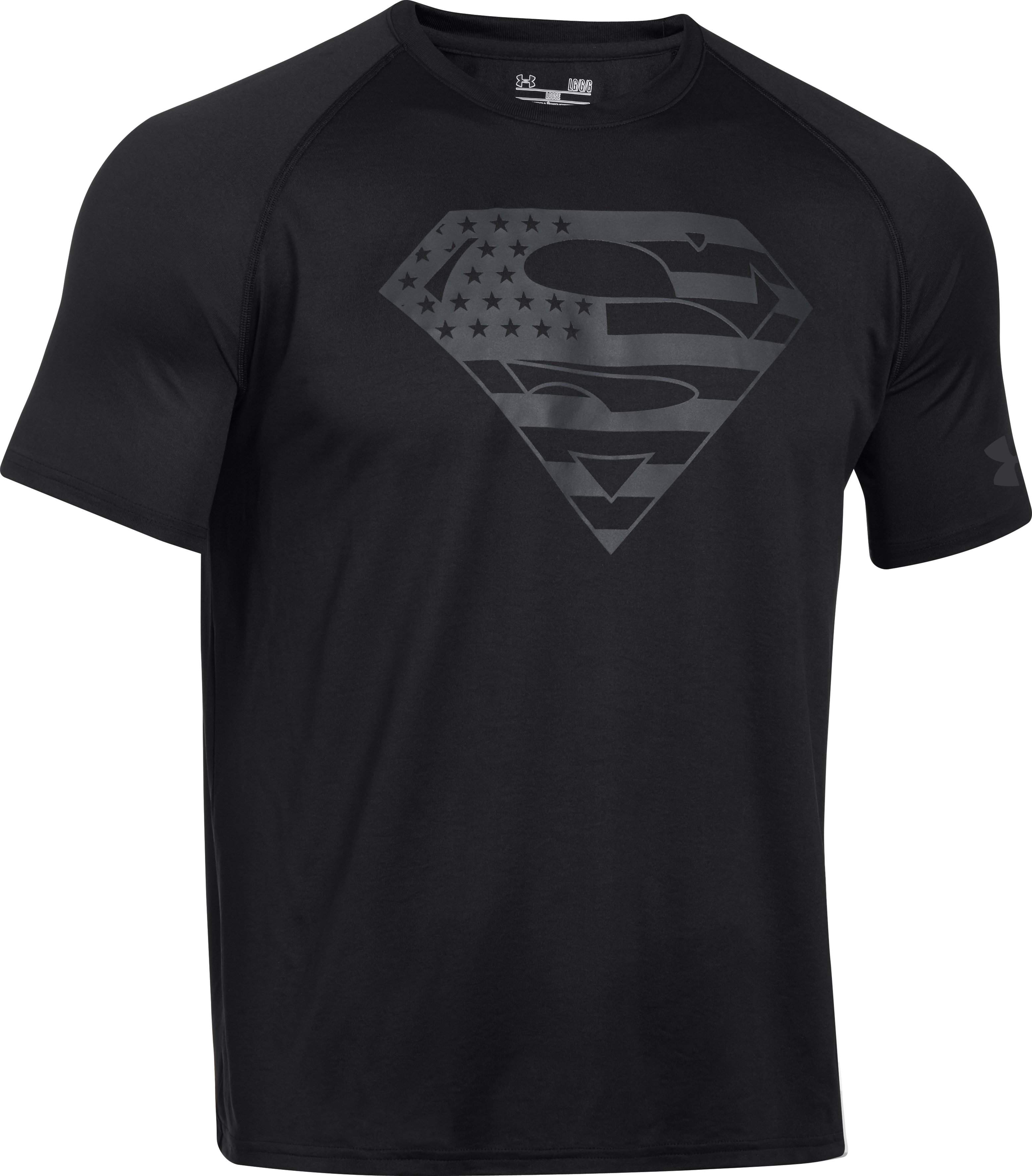 Men's Under Armour® Alter Ego USA Superman T-Shirt, Black
