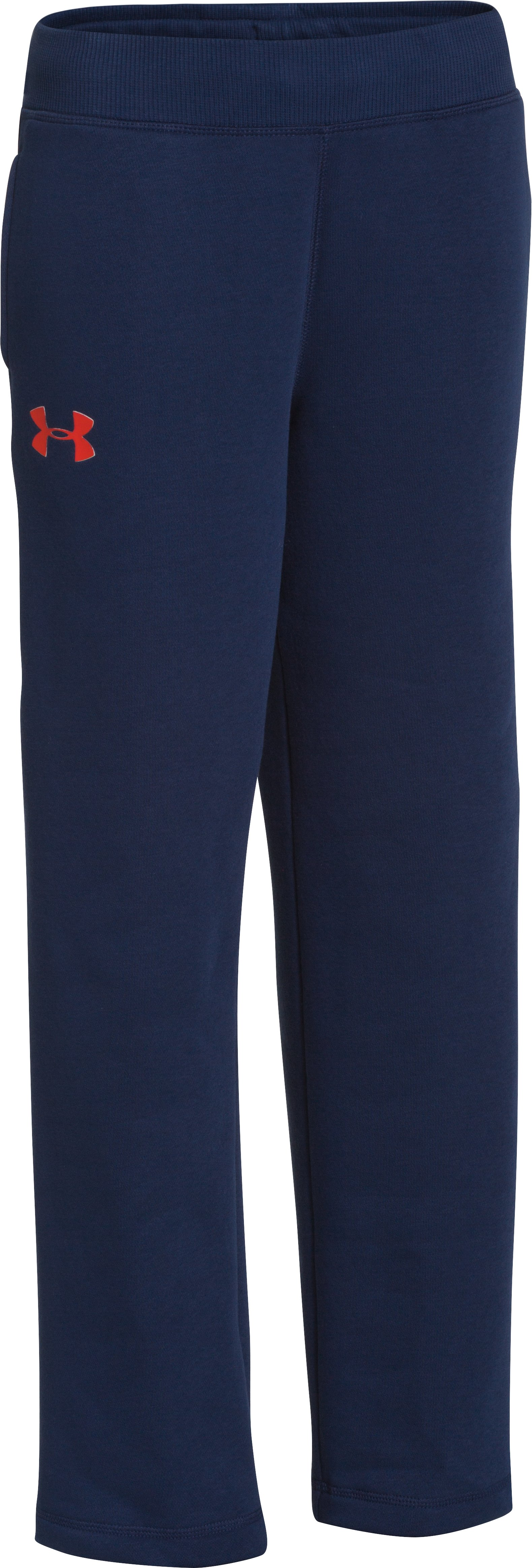 Boys' UA Rival Pants, DEEP SPACE BLUE